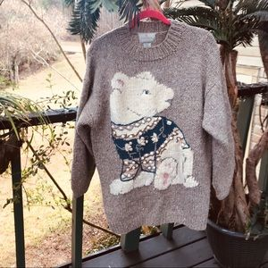 EXPRESS TRICOT HAND KNITTED SWEATER